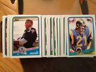 1988 TOPPS FOOTBALL HAND MADE SET - 396 CARDS