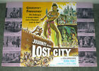 JOURNEY TO THE LOST CITY original large 1960 pressbook DEBRA PAGET FRITZ LANG