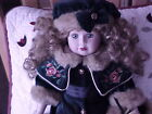RARE! GENUINE PORCELAIN DOLL *CAMELLIA GARDEN COLLECTION 1998* w/CERTIFICATE