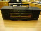 SONY AMFMDOUBLE CASSETTE CONTINOUS PLAY GRAPHIC EQUALIZER MODEL CFS-W440 BOOMBOX