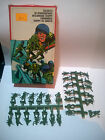 Vintage Plastic Army Men Toy Set,