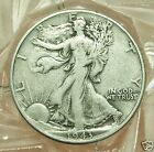 1943 P VERY FINE WALKING LIBERTY HALF DOLLAR 90 SILVER11590