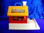 Vintage Fisher Price 2550 Little People Play School House