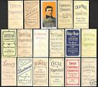 NEW Set of 16 REPRINTS 1909 HONUS WAGNER T-206 with 16 Back Variations PIEDMONT