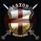 SAXON ~ PERFORMANCE NEW AND SEALED LIVE IN CONCERT HEAVY METAL THUNDER ETC