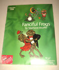 Studio Bernina Fanciful Frogs by Stephanie Stouffer Collection 759 HARD TO FIND!