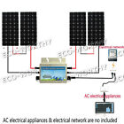 600Watt Grid Tie System4160W solar panel W 600W 24V 110V Waterproof inverter