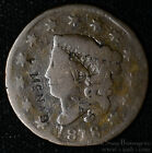 McNab Counterstamp on 1818 Large Cent Matron Head on Both obv and Rev.