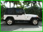 Jeep : Wrangler 4 X 4 CONVERTIBLE 4.0L I6 5 SPEED MANUAL 1992 jeep wrangler 4.0 l i 6 4 x 4 5 speed manual white tan interior