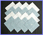 40 Snowflakes Fabric Squares Quilt blocks Kit Sewing Quilting 4x4 blocks