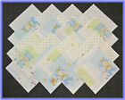 40 Baby Blue Days Fabric Squares Quilt blocks Kit Sewing quilting 4x4 Material