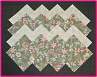 40 Beauties Fabric Squares Quilt blocks Kit Sewing quilting 4x4 Material