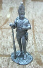 54 mm Tin Miniature sculpture Figure Toy soldier Russian soldier 1805 year
