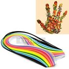 160 Stripes Quilling Paper 3 5mm Width Mixed Color For DIY Craft Free Shipping
