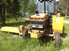 Ford 6640 tractor with  tiger ditch mower , diesel ,all hdy