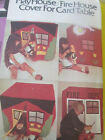 McCall's  3862 Play House Fire House Fire House Cover for Card Table Pattern