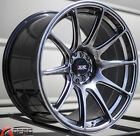 18X875 XXR 527 WHEELS 5X100 1143 +20 BLACK RIMS FITS HONDA ACCORD PRELUDE