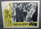 TWIST ALL NIGHT original 1962 lobby card JUNE WILKINSON 11x14 movie poster