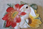 Fitz & Floyd BUNNY BLOOMS CANAPE PLATE Easter Spring