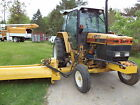 NEW HOLLAND 6640 tractor with tiger ditch or bank mower ONE OWNER