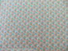 Joan Kessler for Concord Fabrics 100% Cotton Country Florals Sold  BTY