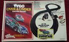 Tyco Over & Under Lighted Race Set w/Both Cars Plus Lots Of Extra Track Pieces