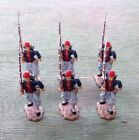 Frontline Figures American Civil War Louisiana Tigers LTZ2 6 Marching Figures