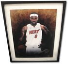 Lebron James Signed Autograph 16x20 Welcome To Miami Heat Photo Framed UDA 100