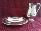 Vintage Camille Water Pitcher Oblong Serving Bowl - International Silver Company