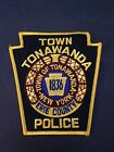 TONAWANDA NEW YORK POLICE DEPARTMENT LAW ENFORCEMENT PATCH NEW
