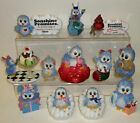 Sonshine Promises Lot of 11 Figurines, 1 Orn. 3 Pins Diet, Birthday, Baby, Love