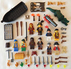 10 NEW LEGO PIRATE MINIFIG LOT PLUS ACCESSORIES figures men minifigures set guys