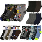 6 Pairs Assorted Kids Socks Size Ages 2 3 Years Animal Print Boys 2T 3T Toddler