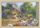 Cobble Hill ROSELANE HOUSE 1000 pc Used Jigsaw Puzzle Douglas Laird