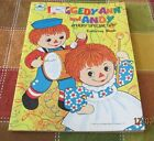 Vintage 1979 Golden Unused Raggedy Ann and Andy Coloring Book A Very Special Day