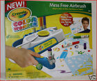 Crayola Color Wonder MESS FREE AIRBRUSH Machine + Paper  MARKERS PAINT Art NEW