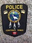 Ochichakkosipi Constable TRIBAL POLICE PATCH INDIAN RESERVATION Manitoba Canada