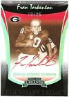 2006 Press Pass Legends Platinum Red Ink Autograph Fran Tarkenton Bulldogs 10 25