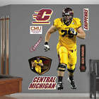 ERIC FISHER CENTRAL MICHIGAN CHIPPEWAS REAL BIG FATHEAD WALL GRAPHIC LIFE SIZE