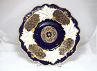 Echt Weimar Kobalt, Cobalt Blue and Gold Porcelain Serving Plate