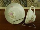 Vintage Fine China of Japan Rose Spray Pattern Cup and Saucer, #2313