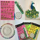 Paper DIY Tool Quilling Kits With Work Board Quilling Slotted Tools 1Set 4 Pcs