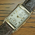 1949 Vintage BULOVA 'HIS EXCELLENCY' Gold Filled Art Deco Watch — FULLY SERVICED
