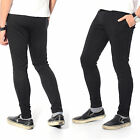 Mens Skinny Soccer Pants Training Sweat Sports Gym Athletic Pants Trousers
