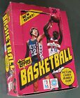 1981 82 Topps Basketball Display Box (empty - no cards)
