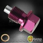 M14X1.5 UNIVERSAL Purple ANODIZED Magnetic Engine Oil/Transmission Drain Plug