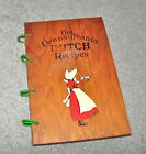 1936 Old Pennsylvania Dutch Recipes - Spiral Bound Wooden Covers - Folksy