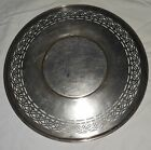 VINTAGE ORNATE BENEDICT EPNS 645 ELECTROPLATED NICKEL SILVER TRAY