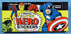 MARVEL SUPER HERO STICKERS 1967 FULL MINT BOX 24 PACKS Capt America Hulk Thor!