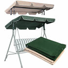 Swing Top Cover Canopy Replacement Porch Patio Outdoor 66x45 75x52 77x43